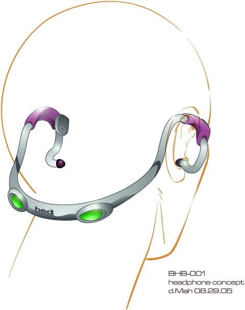 Headphone Concept - Derek Mah