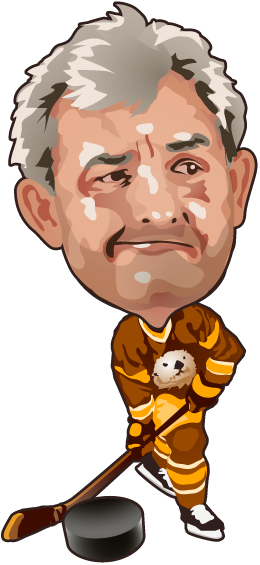 Online hockey game illustration - Tumbleweed Prairie Otters - Derek Mah