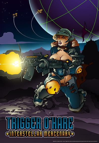 Trigger O'Hare Poster - Derek Mah
